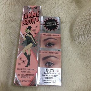 Brand new Benefit Gimme Brow+ in shade 5